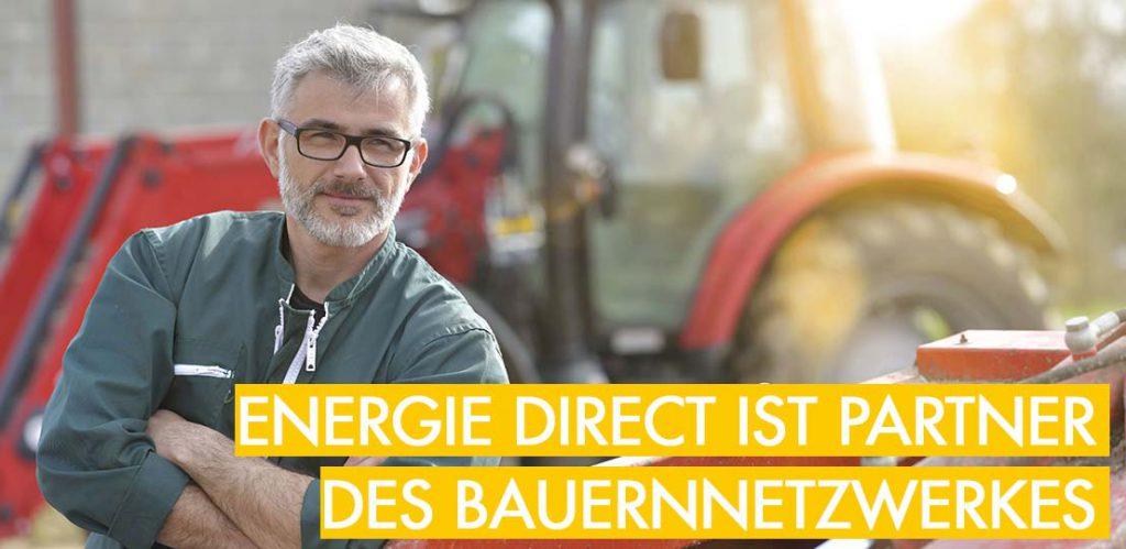 Energie Direct ist Energiepartner des Bauernetzwerkes