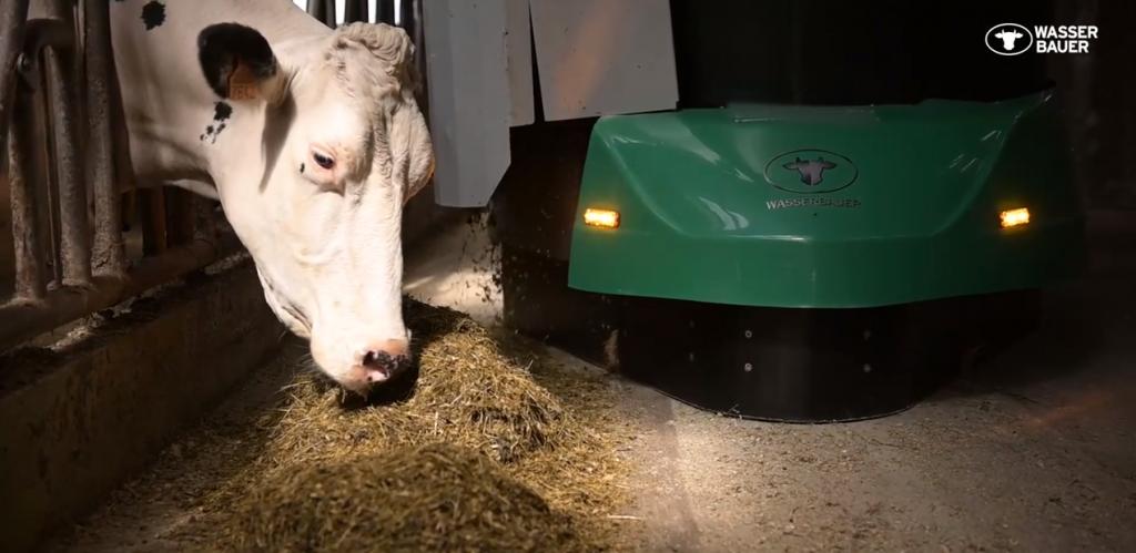 Wasserbauer – Fütterungsroboter in Frankreich