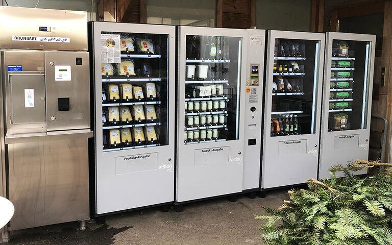 Hofladen 2.0: Landwirt Stefan Lässer setzt auf Bischof Automaten
