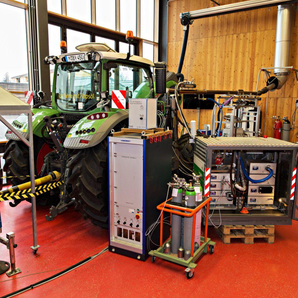 Neue Entwicklung für Traktorprüfzyklen vorgestellt