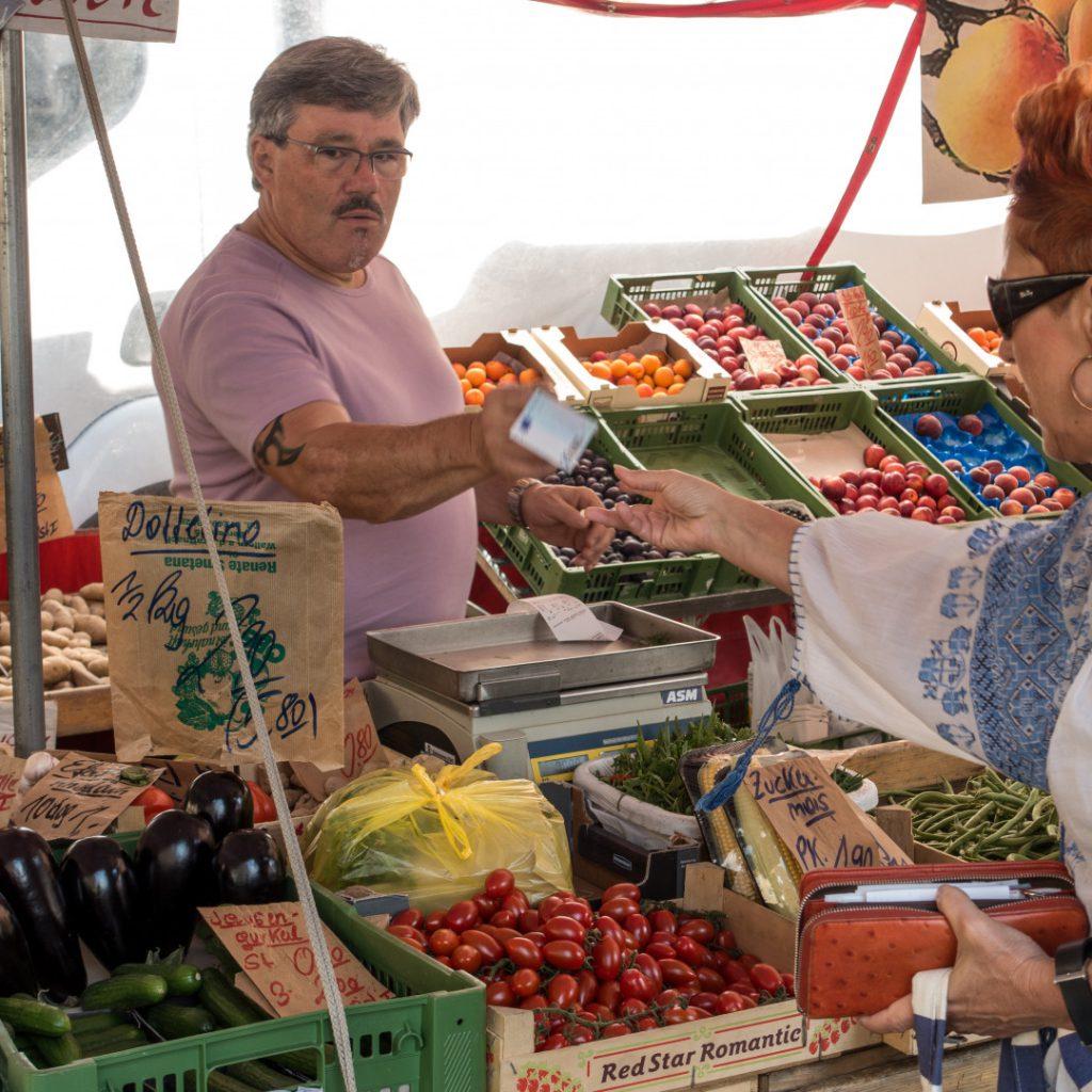 Regelrecht einkaufen auf Bauernmärkten