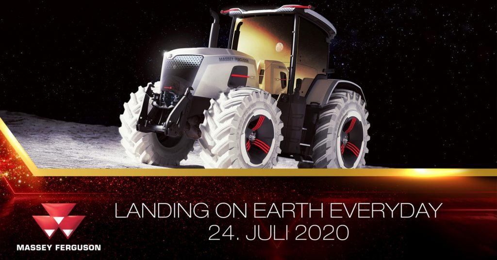 """Massey Ferguson Live-Event """"Landing on Earth"""""""